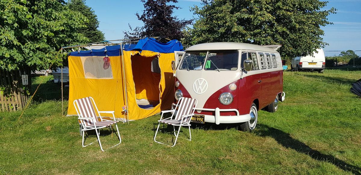VW campervan 1967 original SO42. Sale agreed. SOLD (picture 1 of 6)