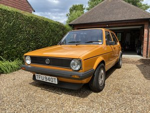 1979 Mk1 Golf - Series 1 - 1.5LD - Unmodified