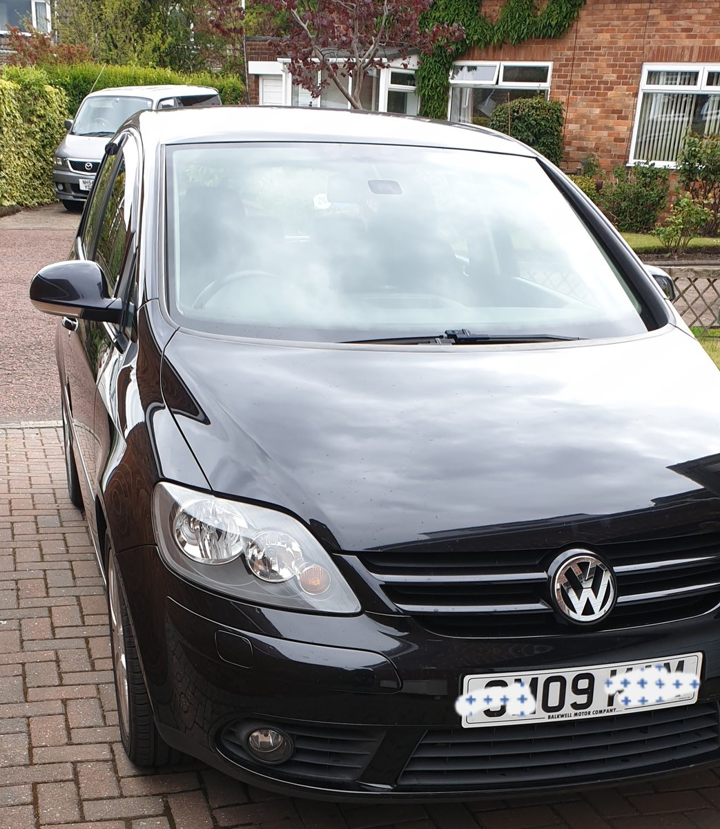 2009 VW GOLF PLUS 1.9 TDI FSH 2 OWNERS SOLD (picture 1 of 6)