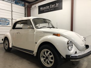 1977 VW Super Beetle Cabriolet Champagne Edition SOLD