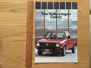 Volkswagen Caddy pickup brochure