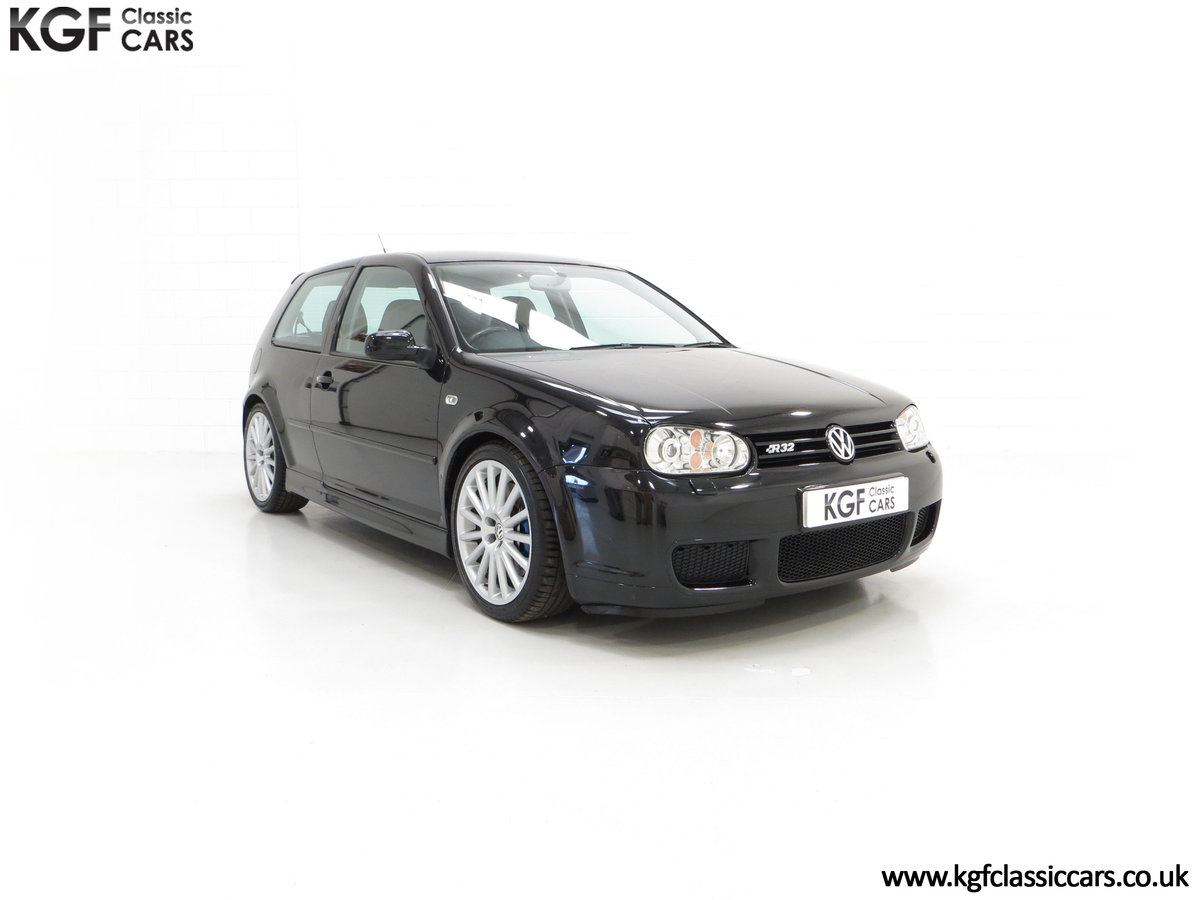 2003 A Desirable Volkswagen Golf R32 3dr with Only Two Owners For Sale (picture 1 of 24)