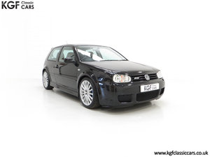 2003 A Desirable Volkswagen Golf R32 3dr with Only Two Owners