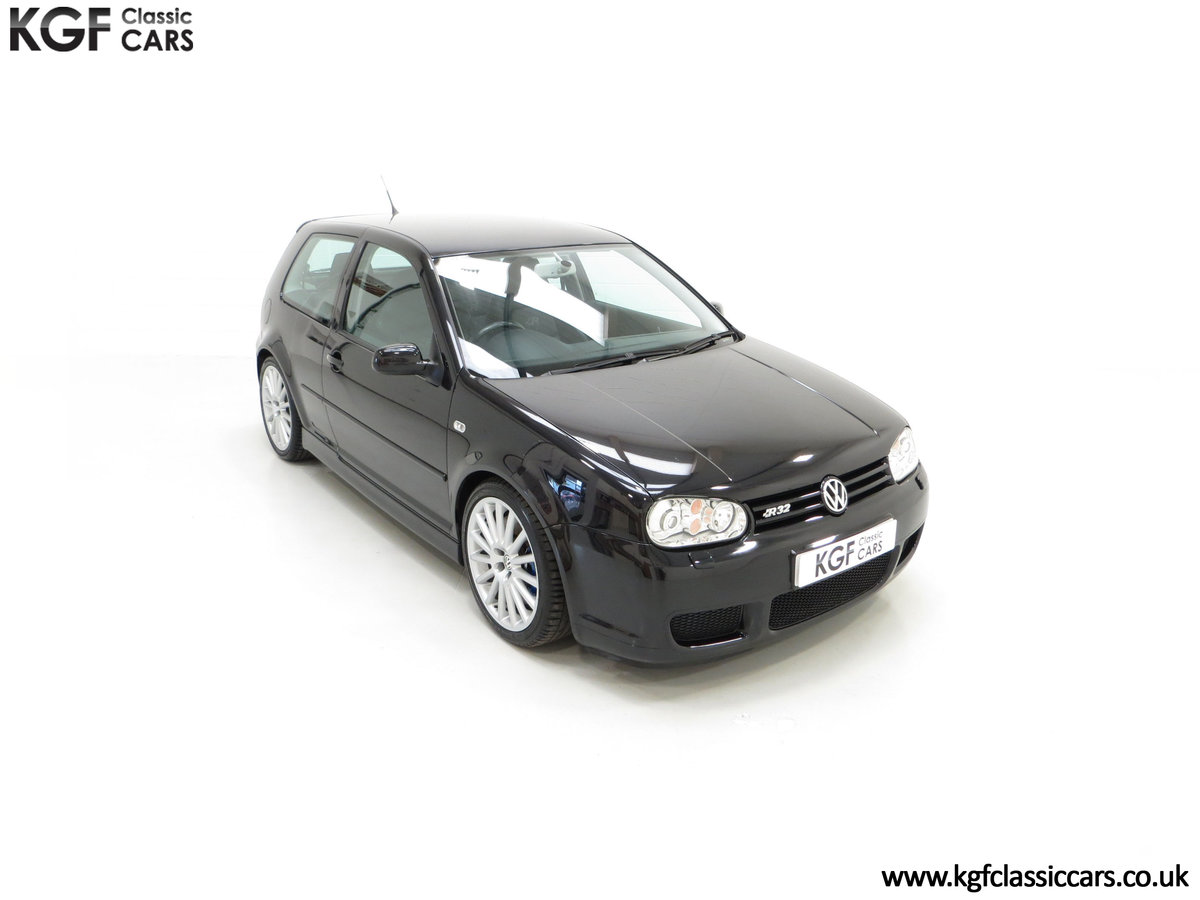 2003 A Desirable Volkswagen Golf R32 3dr with Only Two Owners For Sale (picture 2 of 24)