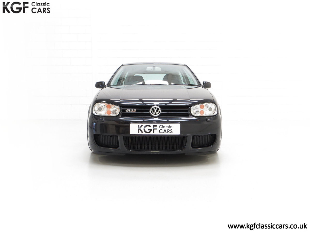 2003 A Desirable Volkswagen Golf R32 3dr with Only Two Owners For Sale (picture 3 of 24)