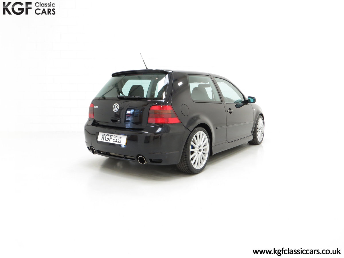 2003 A Desirable Volkswagen Golf R32 3dr with Only Two Owners For Sale (picture 13 of 24)