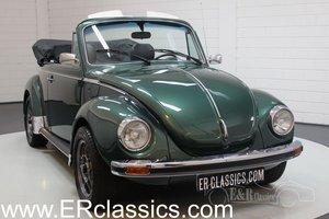 Volkswagen Beetle 1303 LS Convertible 1975 Dark Green For Sale