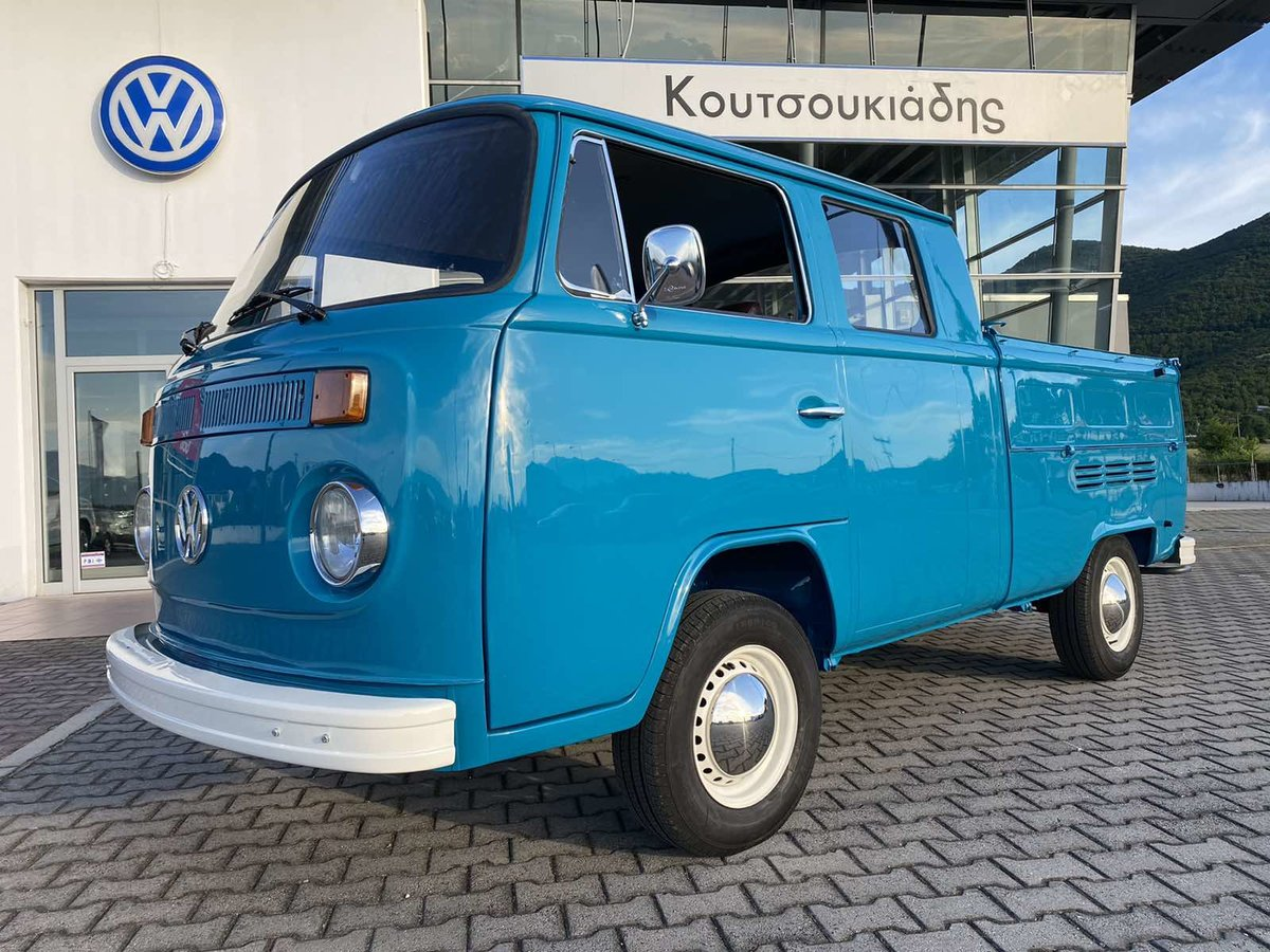 1975 VW T2 Crew cab Pick up For Sale (picture 1 of 6)