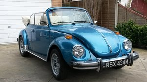 1974 Volkswagen Karmann Beetle Cabriolet 1303 LS For Sale