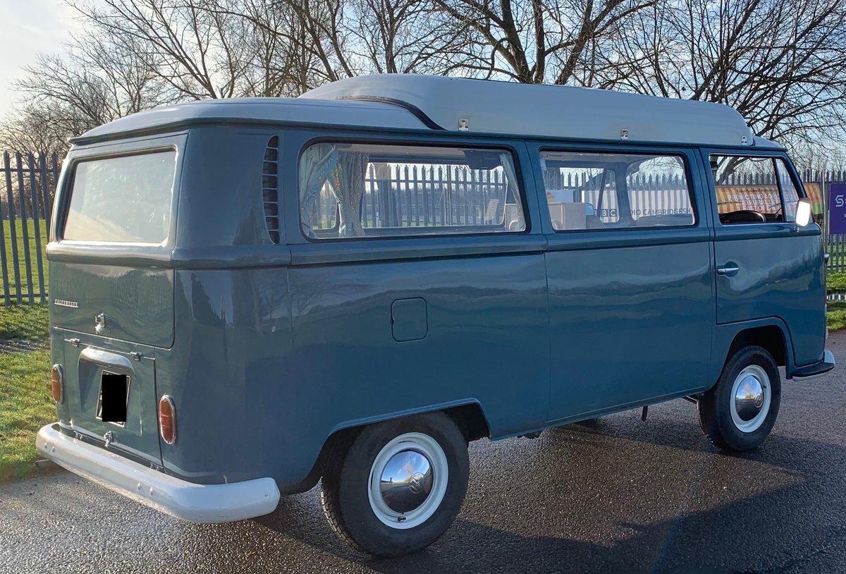 1971 VW T2 Early Bay Dormobile Campervan, Restored  For Sale (picture 2 of 6)