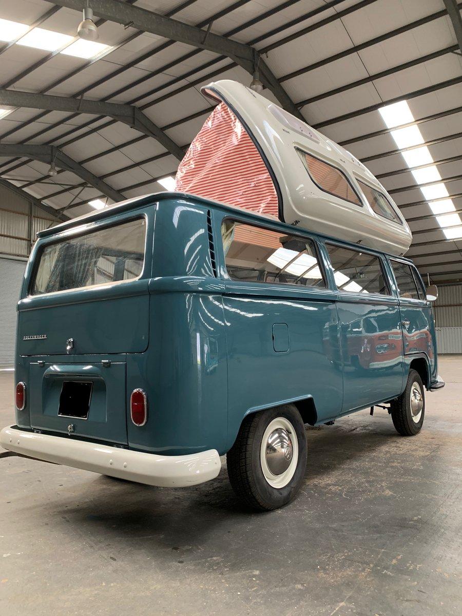 1971 VW T2 Early Bay Dormobile Campervan, Restored  For Sale (picture 4 of 6)