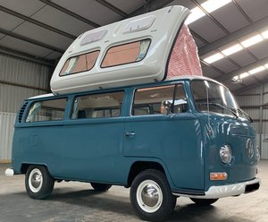 VW T2 Early Bay Window Dormobile Campervan