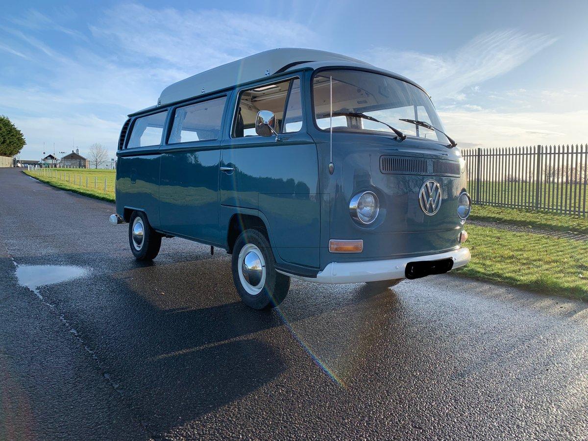 1971 VW T2 Early Bay Dormobile Campervan, Restored  For Sale (picture 3 of 6)