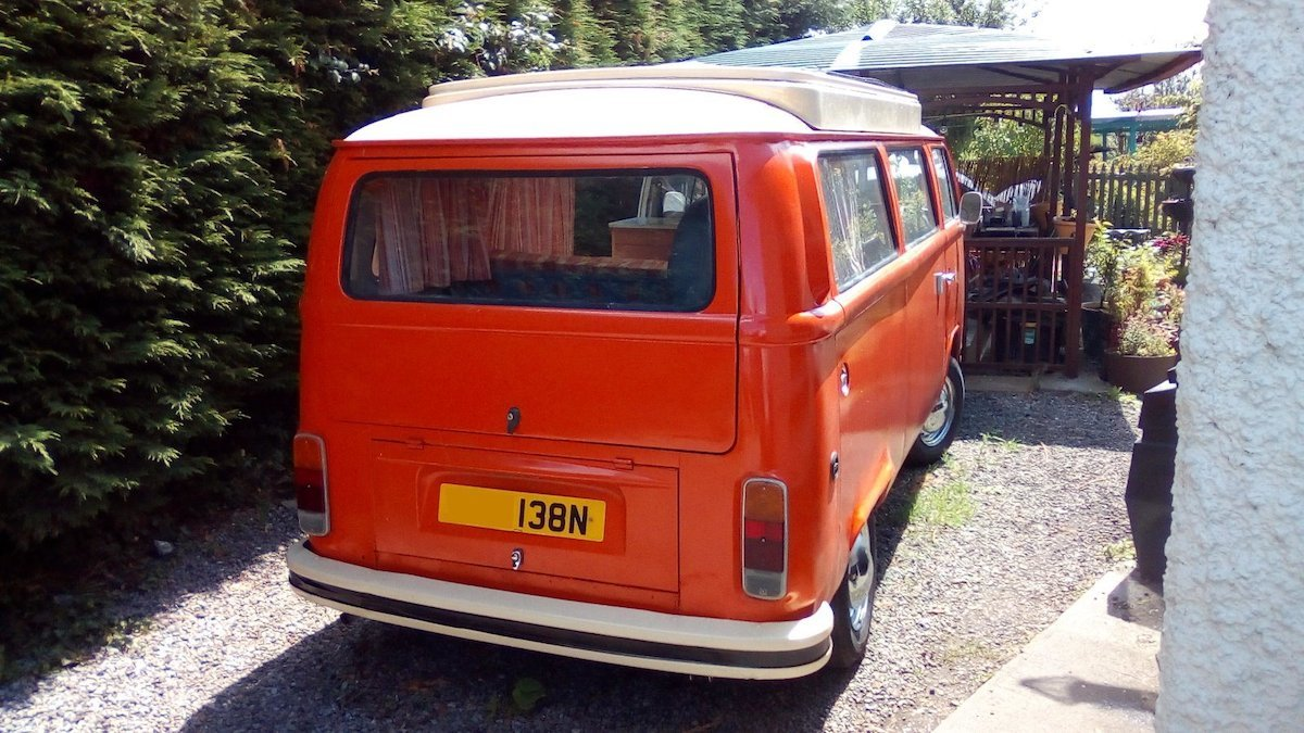 1976 Vw t2 baywindow SOLD (picture 4 of 6)