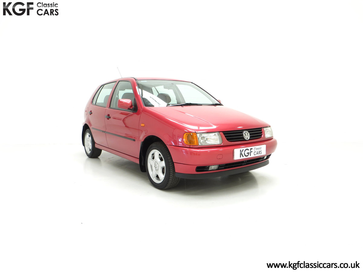 1997 A Pristine Volkswagen Polo 1.6 GL with just 21,763 Miles SOLD (picture 1 of 24)