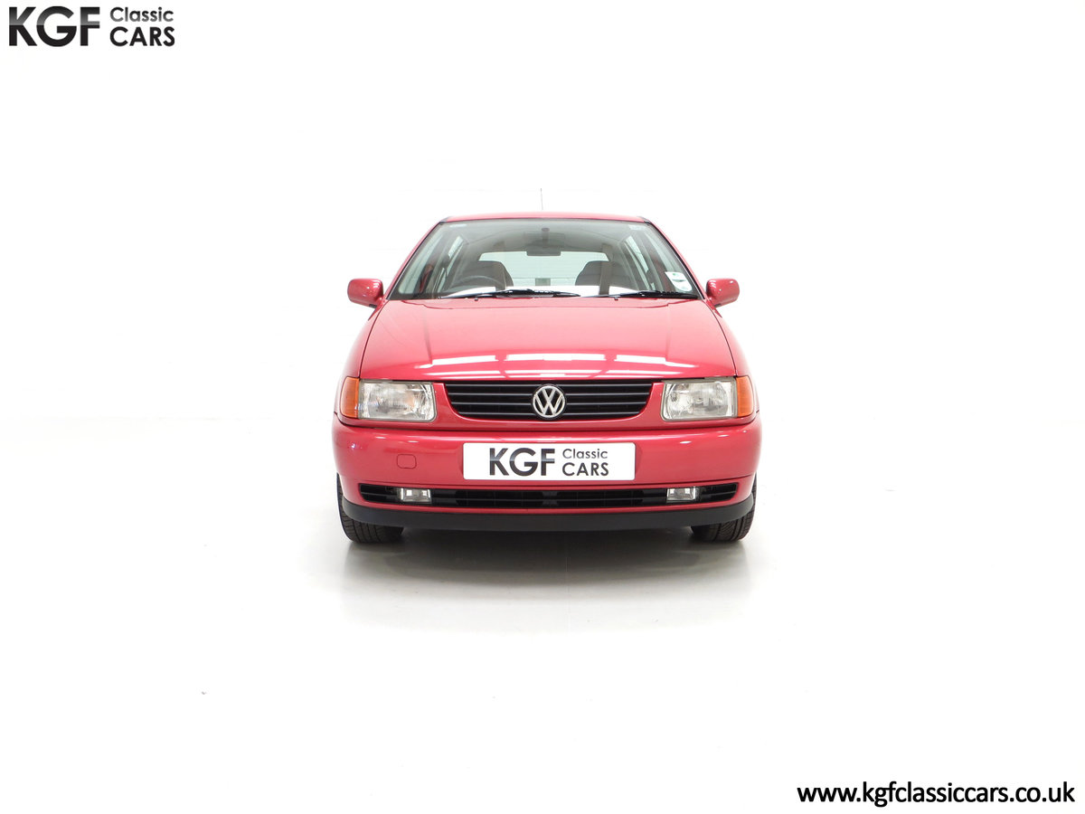 1997 A Pristine Volkswagen Polo 1.6 GL with just 21,763 Miles SOLD (picture 3 of 24)