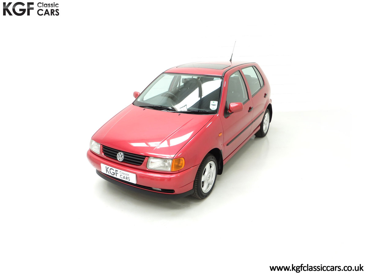 1997 A Pristine Volkswagen Polo 1.6 GL with just 21,763 Miles SOLD (picture 5 of 24)