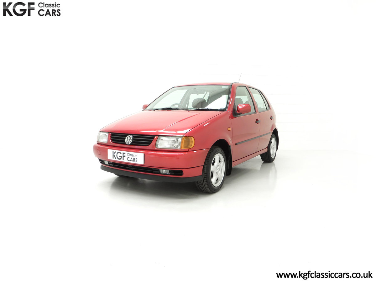 1997 A Pristine Volkswagen Polo 1.6 GL with just 21,763 Miles SOLD (picture 6 of 24)