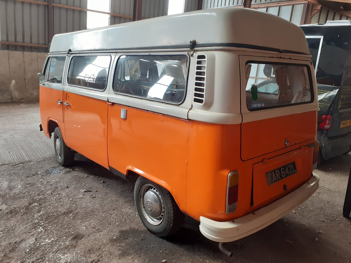 1973 Volkswagen Camper t2  For Sale (picture 3 of 6)