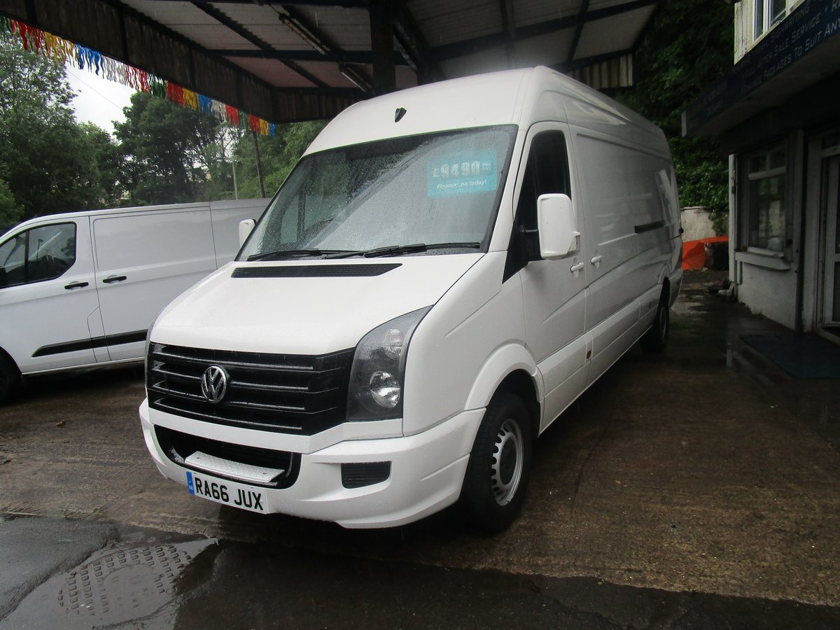 2016 Volkswagen Crafter 2.0TDI ( 109PS ) CR35 LWB HI ROOF For Sale (picture 1 of 6)