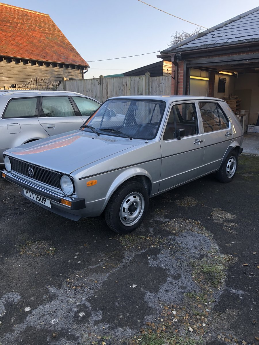 1976 Vw golf L swallowtail For Sale (picture 1 of 6)
