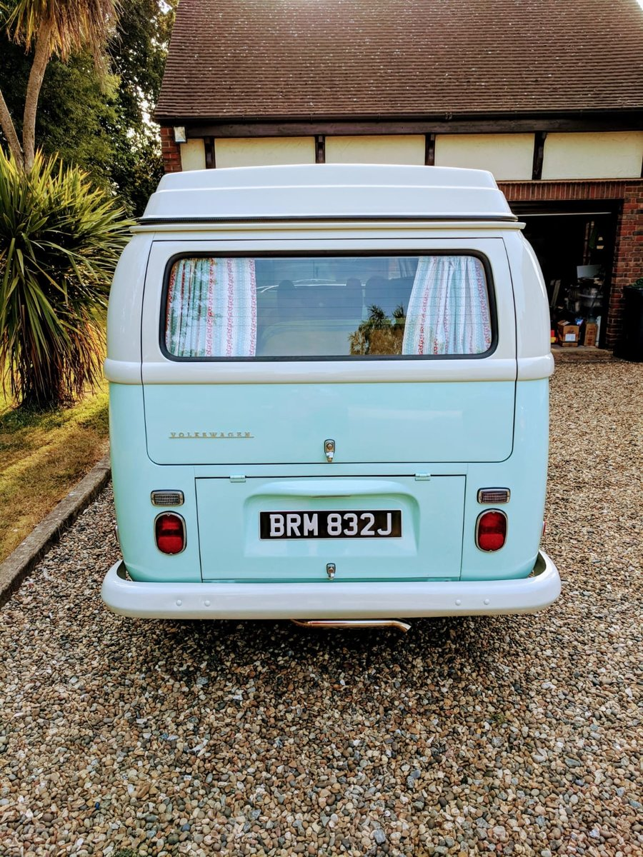 1971 VWType 2 Westfalia Low Light Baywindow camper For Sale (picture 3 of 6)