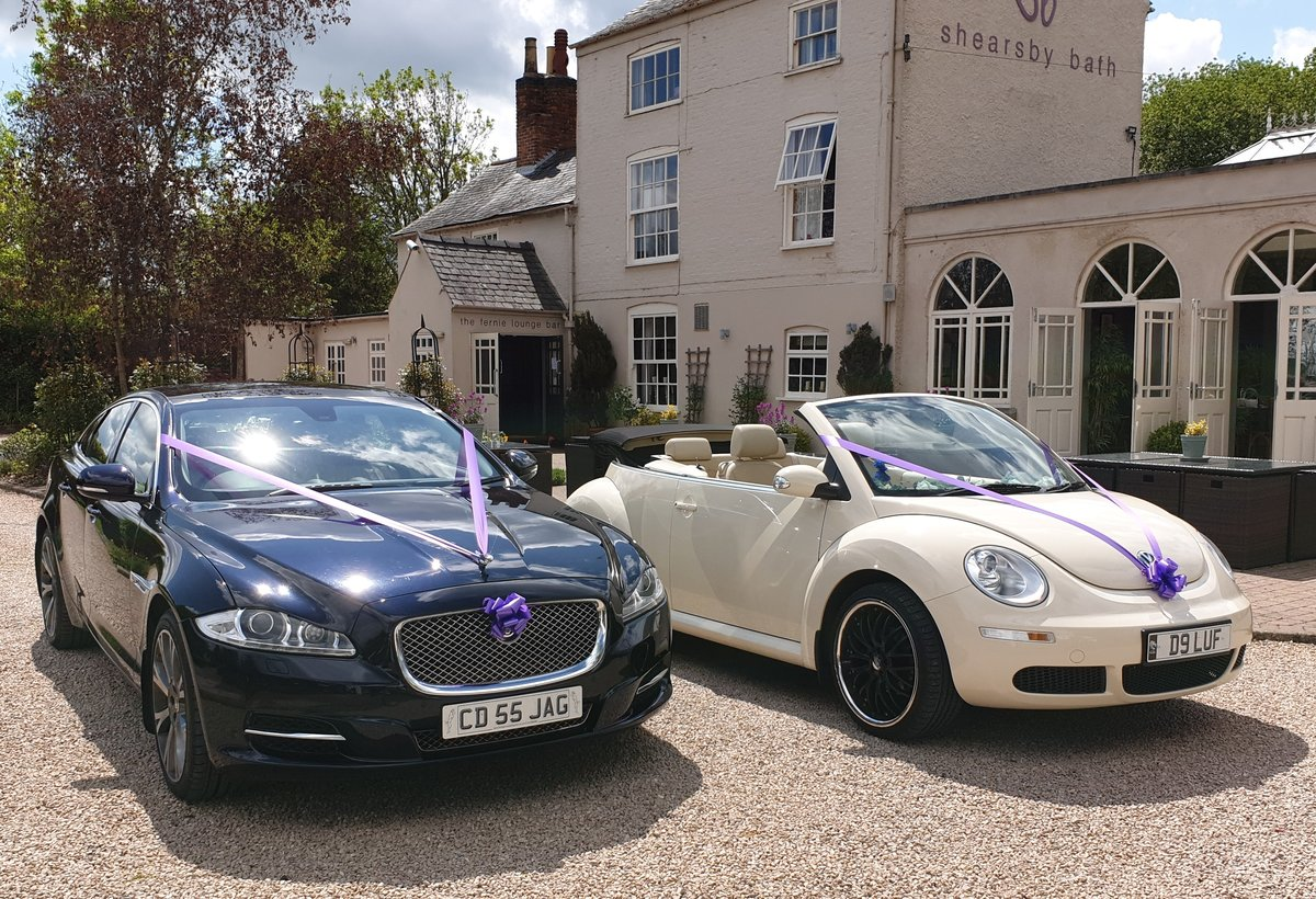 2007 LEICESTER WEDDING CARS VW Beetle convertible For Hire (picture 6 of 6)