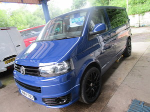 2014 VW TRANSPORTER SHUTTLE 2.0TDI 102