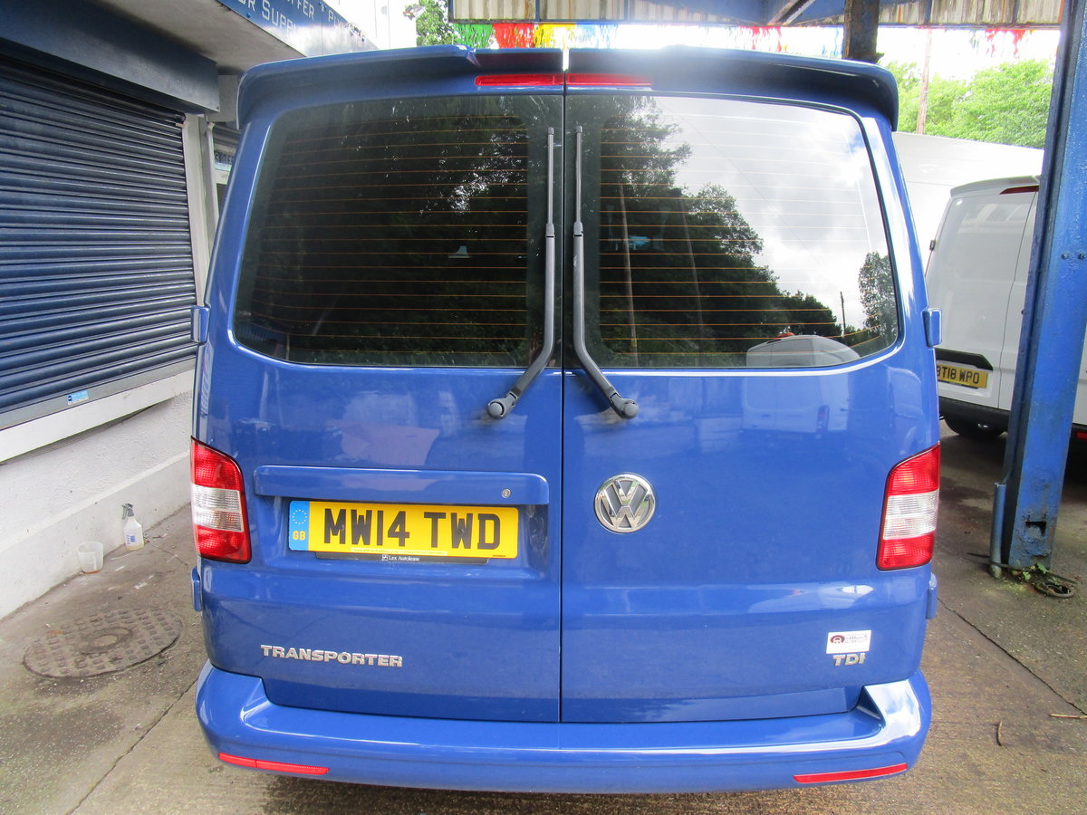 2014 VW TRANSPORTER SHUTTLE 2.0TDI 102 For Sale (picture 3 of 6)
