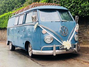 Fully Refurbished Vw Splitscreen Camper