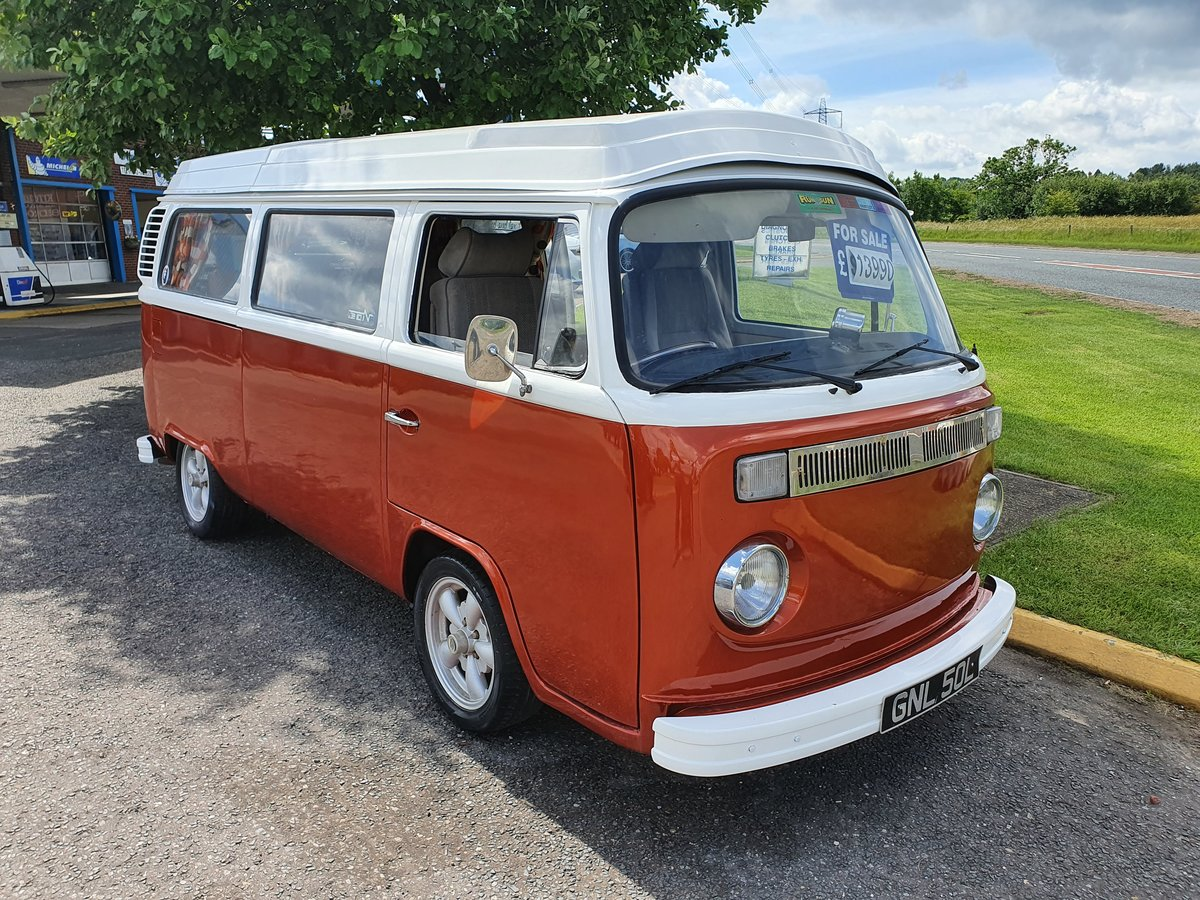 1973 Vw type 2 camper 2ltr For Sale (picture 1 of 6)