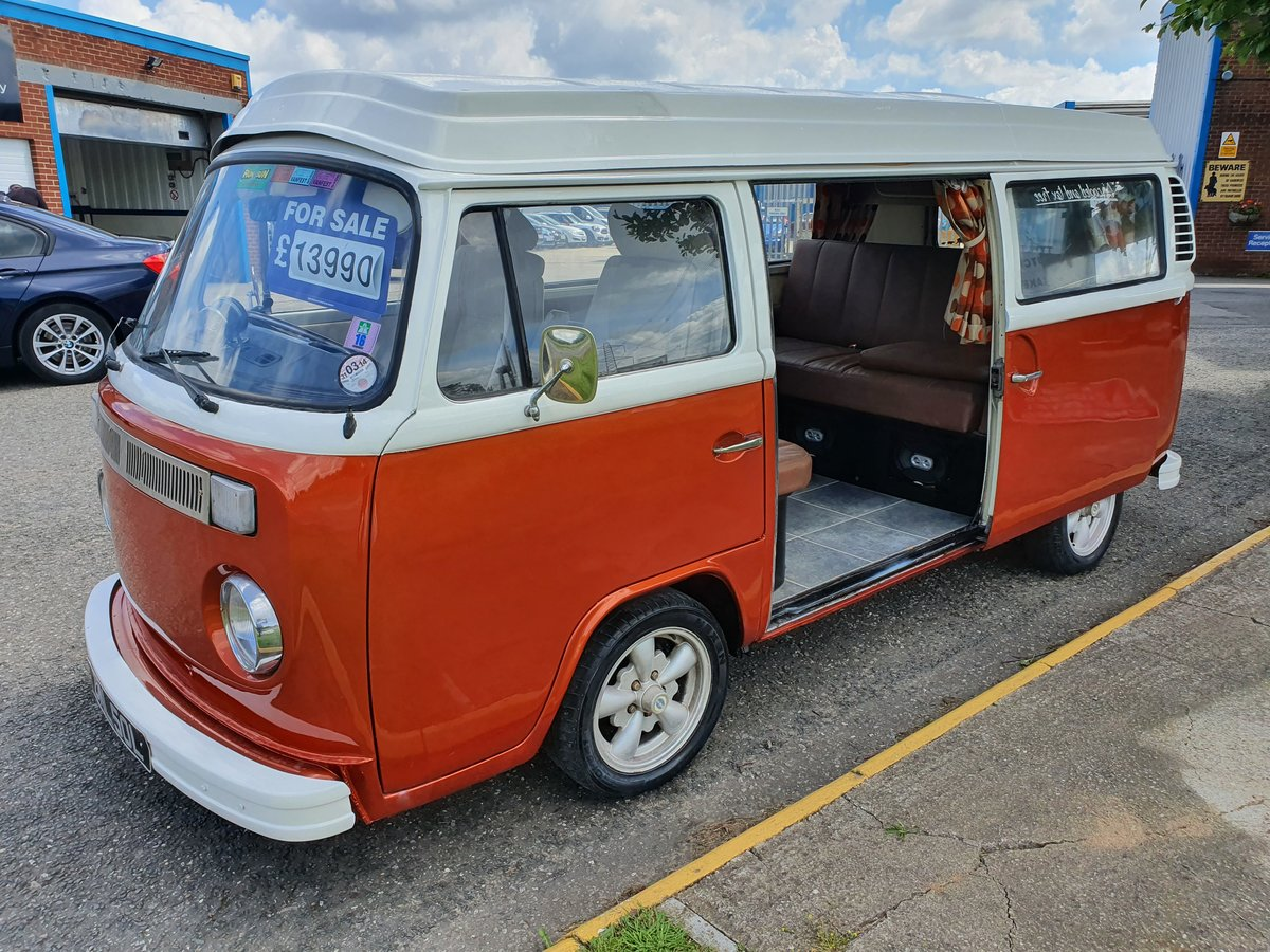 1973 Vw type 2 camper 2ltr For Sale (picture 2 of 6)