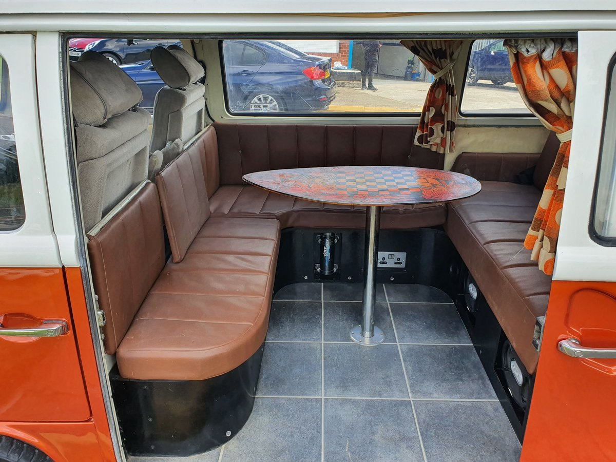 1973 Vw type 2 camper 2ltr For Sale (picture 4 of 6)