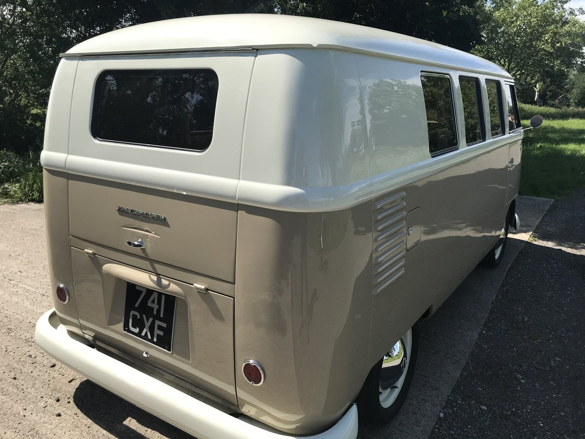 VW Split Screen 1960 RHD camper in A1 condition  SOLD (picture 3 of 6)