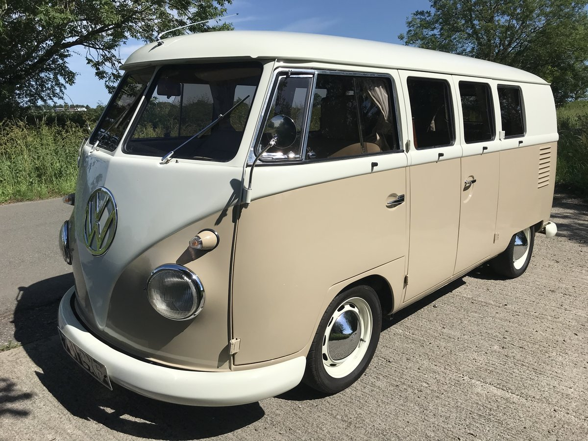 VW Split Screen 1960 RHD camper in A1 condition  SOLD (picture 4 of 6)