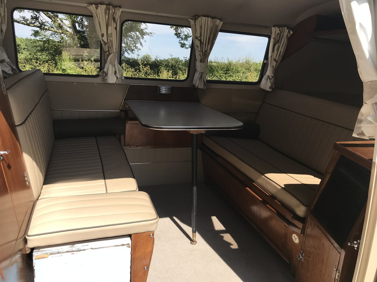 VW Split Screen 1960 RHD camper in A1 condition  SOLD (picture 5 of 6)