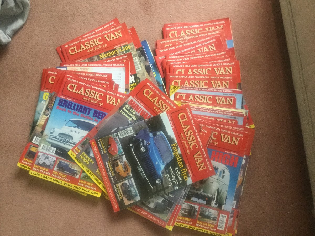2012 Classic van & pick up magazines For Sale (picture 1 of 1)