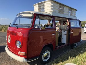 Vw type 2 bay window crossover campervan