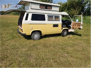 VW T25 T3 Caravelle Autosleeper 1.9 petrol pop top