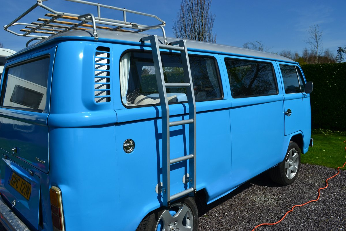 1974 1975 Late Bay window campervan. Devon conversion. For Sale (picture 2 of 6)