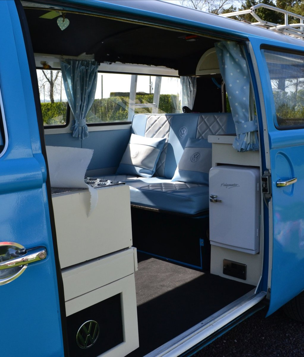 1974 1975 Late Bay window campervan. Devon conversion. For Sale (picture 3 of 6)