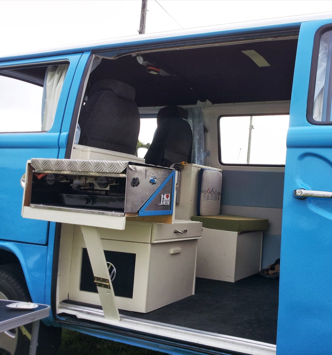 1974 1975 Late Bay window campervan. Devon conversion. For Sale (picture 4 of 6)
