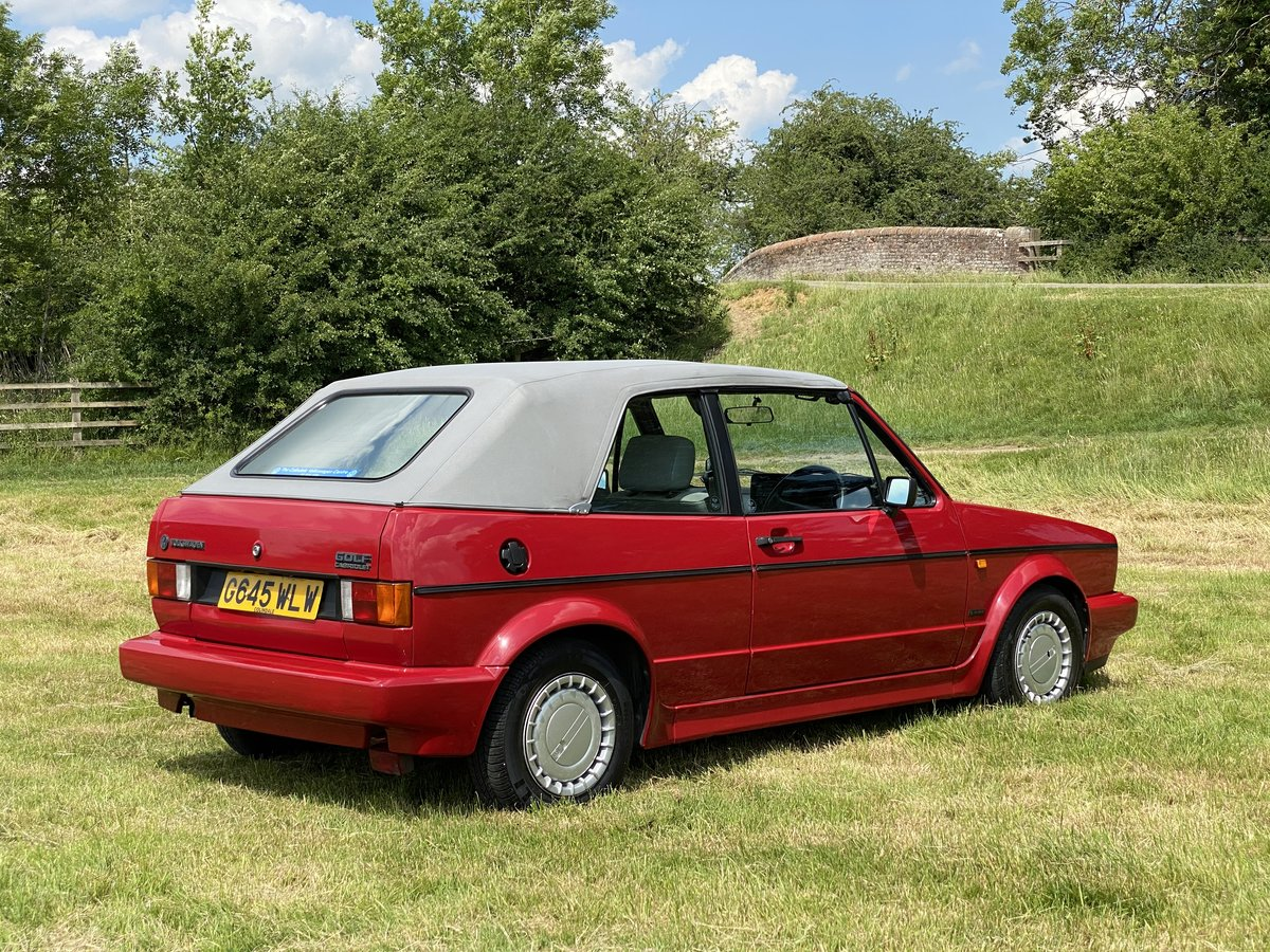 1989 VW Golf Clipper Cabriolet 1Lady Owner 50900 Miles For Sale (picture 6 of 6)