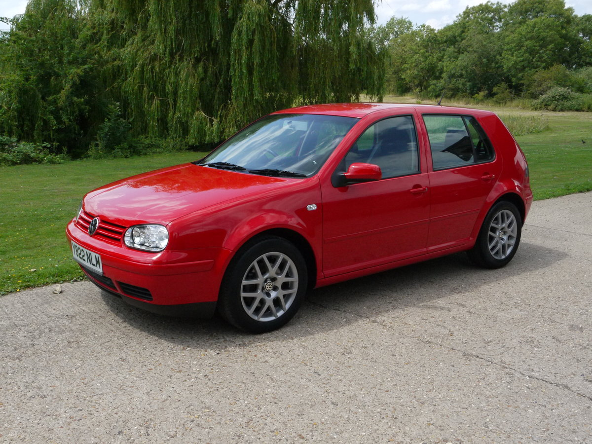 2001 Volkswagen Golf 1.8T 20v 150 GTi Turbo For Sale (picture 1 of 6)