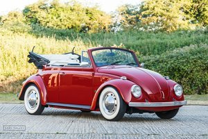 1968 VW Beetle Karmann Cabriolet SOLD