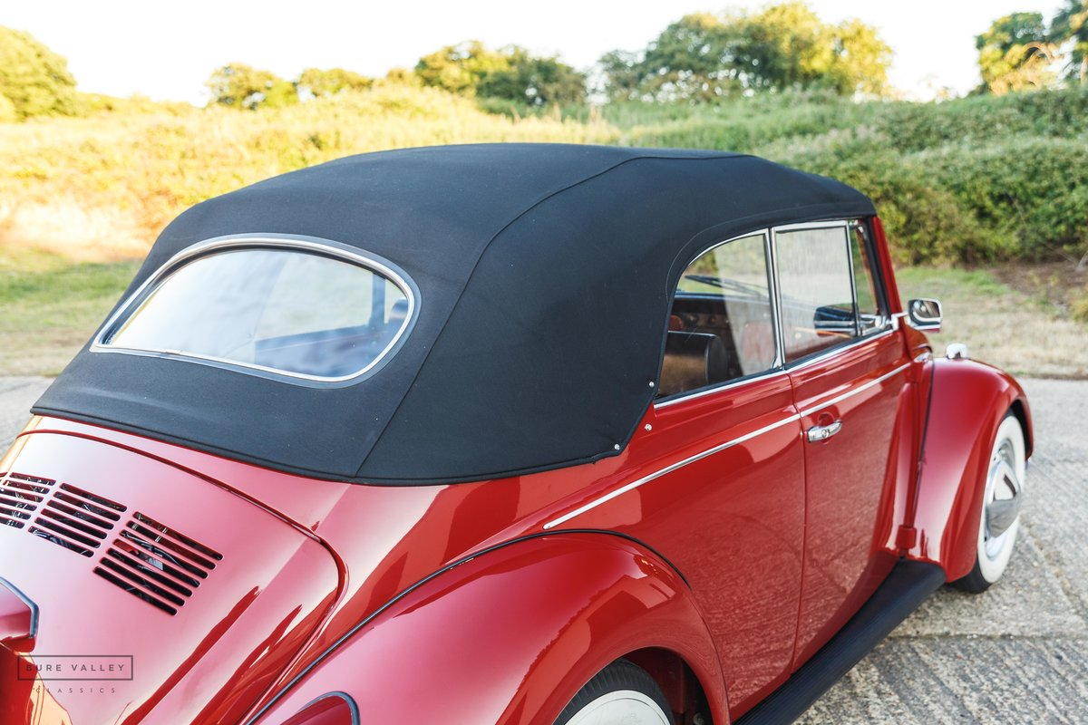 1968 VW Beetle Karmann Cabriolet SOLD (picture 6 of 6)