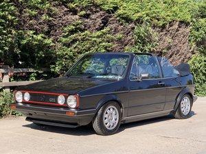 1985 VW golf cabriolet Mk1 gti convertible