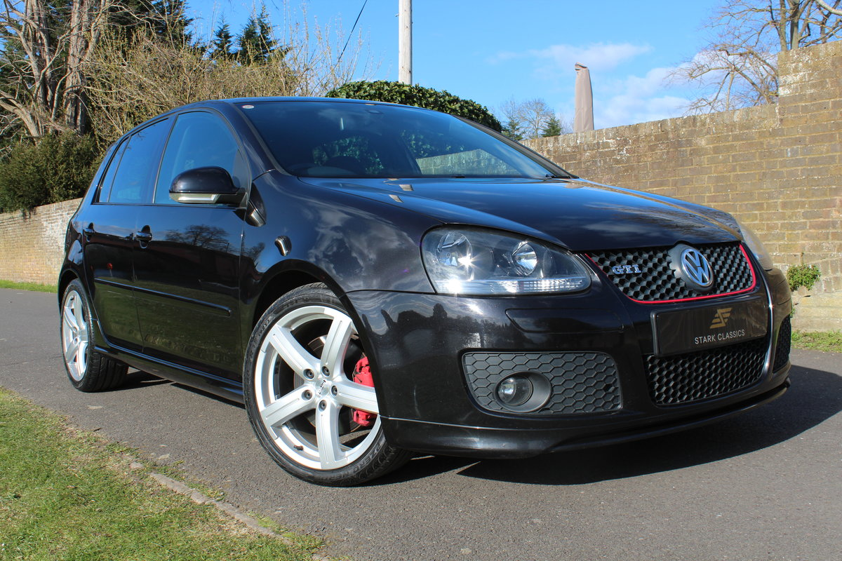 2008 Volkswagen MK5 Golf GTI Pirelli Edition * ONE DIRECTOR OWNER For Sale (picture 1 of 6)