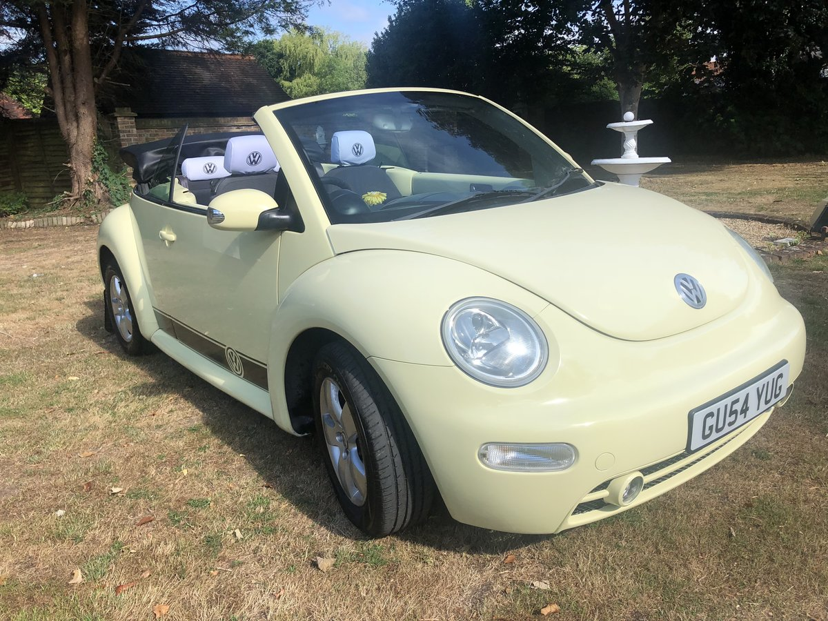 2004 VW Beetle Convertible (54 reg) SOLD (picture 2 of 6)