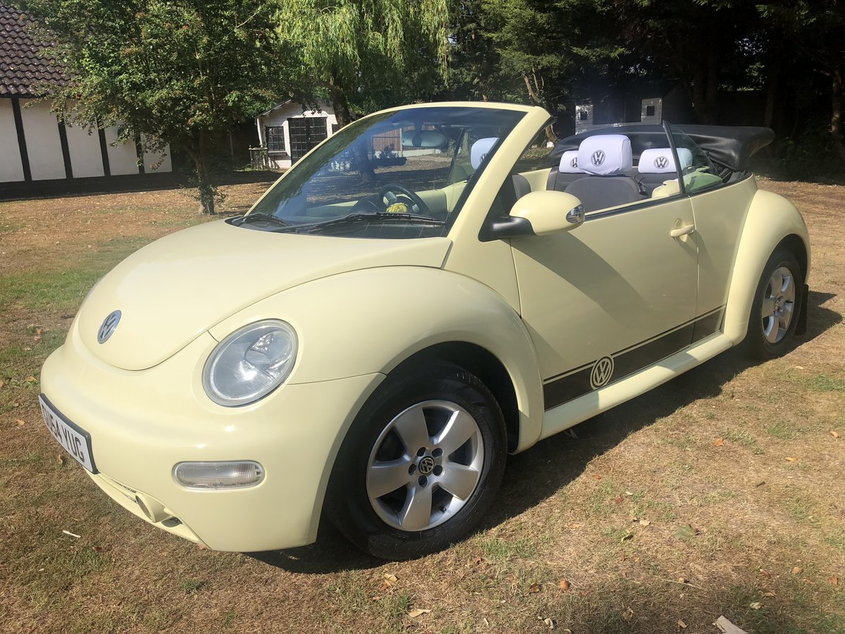 2004 VW Beetle Convertible (54 reg) SOLD (picture 4 of 6)